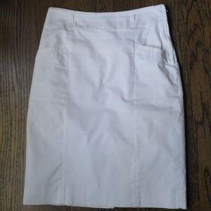 White H&M Pencil Skirt